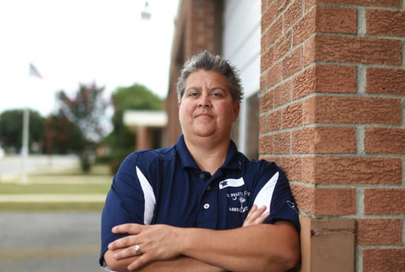 Embattled lesbian police chief suspended from job in South Carolina