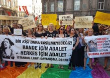 Turkish LGBTQ activists protest gruesome murder of transgender woman