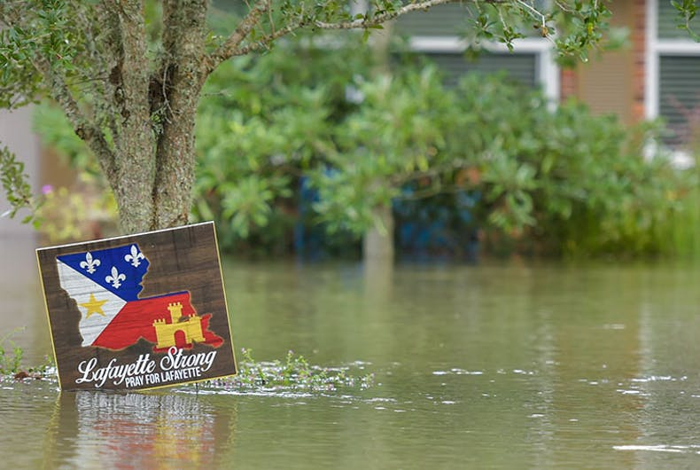 God's wrath? Flood destroys Tony Perkins' home