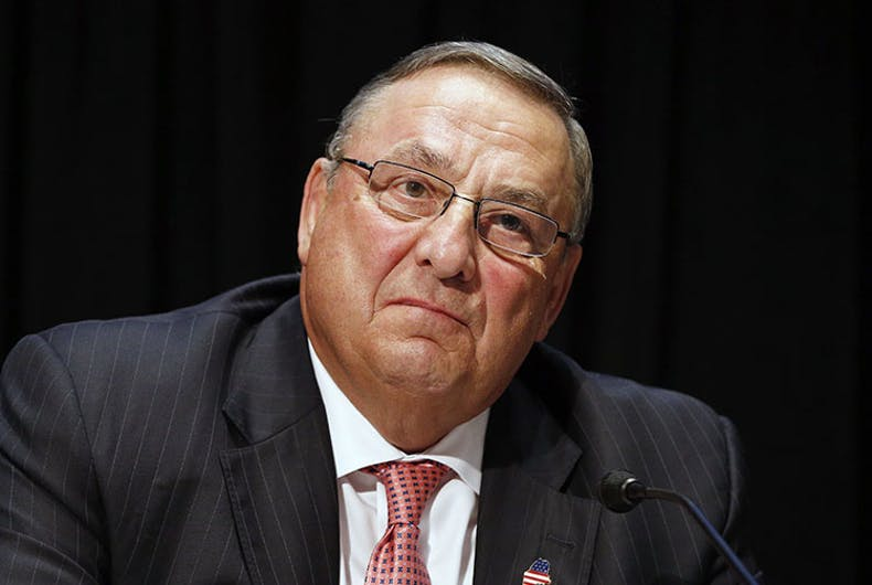 Maine's governor is the first to veto a conversion therapy ban