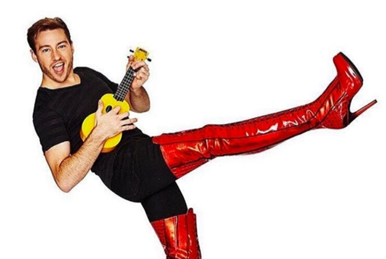 Out Olympian Matthew Mitcham dons kinky boots in Melbourne