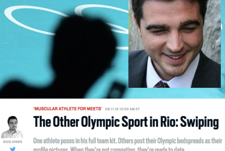 Straight Daily Beast journalist starts outing gay Olympians