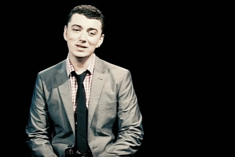 The new Sam Smith music video he doesn't want you to watch