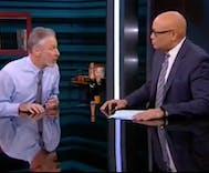 Jon Stewart to Larry Wilmore: OMG! What? Did you piss off Peter Thiel?