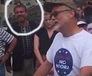 Christian bigot cruelly laughs as widower mourns his dead husband