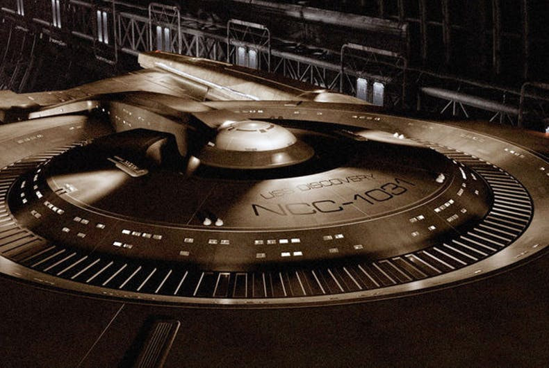 New Star Trek show will have female lead and gay character