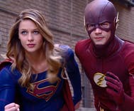 Supergirl takes on Flash, a character comes out — and they all sing!