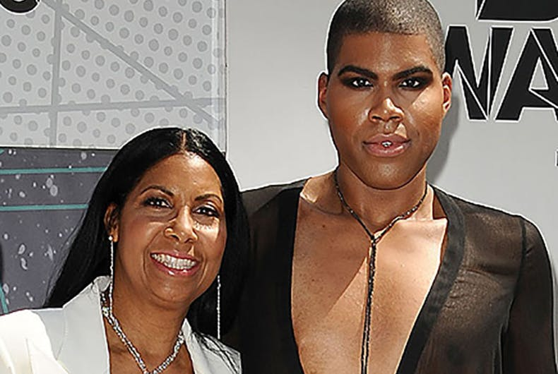 Oprah explores a mother's love and struggle to accept her gay son
