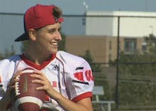 Canadian trans teen welcomed by high school football teammates