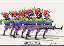 Murdoch-owned Australian paper publishes anti-gay Nazi political cartoon