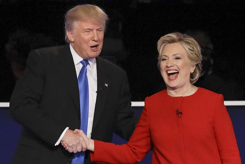 Trump watches old Hillary debates because he finds himself 'brilliant'