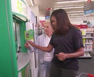 WATCH: Ellen DeGeneres and Michelle Obama cause mayhem in a CVS together