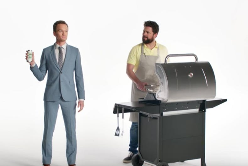 Homophobes freak out over new Neil Patrick Harris Heineken Light ad