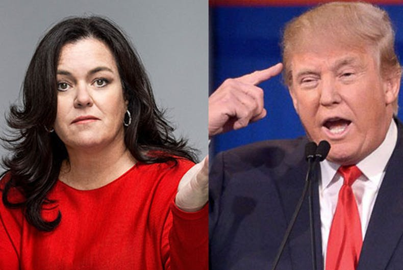 Rosie O'Donnell, Madonna and friends respond to Donald Trump — and it's epic