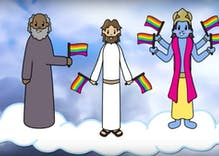 Gay YouTuber creates 'God Loves LGBT+' cartoon to model acceptance