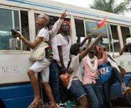 Police stop Uganda's gay pride parade a month after a bar raid