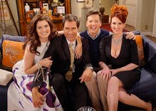 Will & Grace (and Jack and Karen) reunite for election