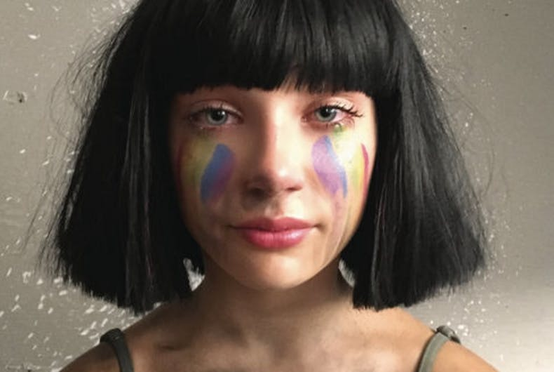 Sia and 13-year-old ingenue pay tribute to Orlando's 49 victims