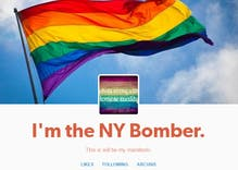 Tumblr user posts manifesto claiming to be Chelsea bomber and gay man