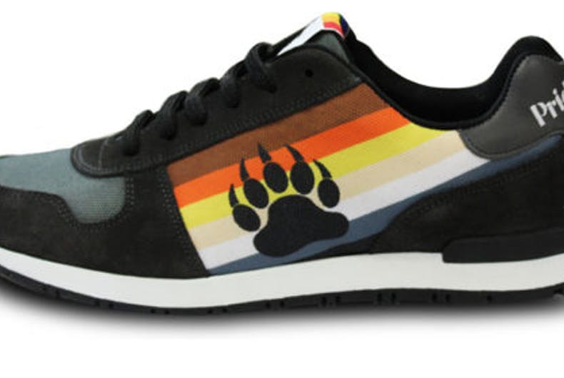 The new limited edition sneakers for bears and the men who love them