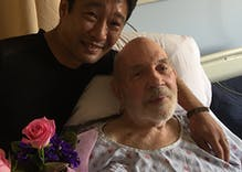 Together 30 years, gay couple weds in VA hospital when told it's legal now