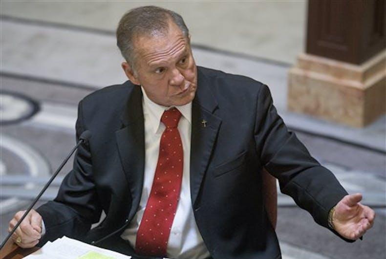 Will homophobic Alabama Supreme Court chief justice keep his job?