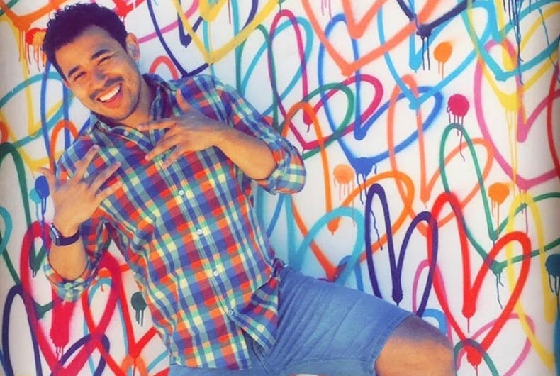 Filmmaker Dickie Hearts opens up about being a deaf gay man of color