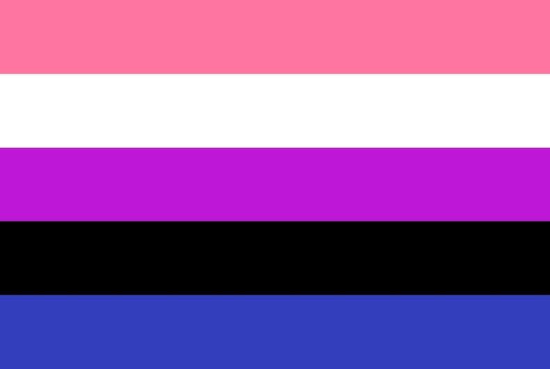 genderfluid flag