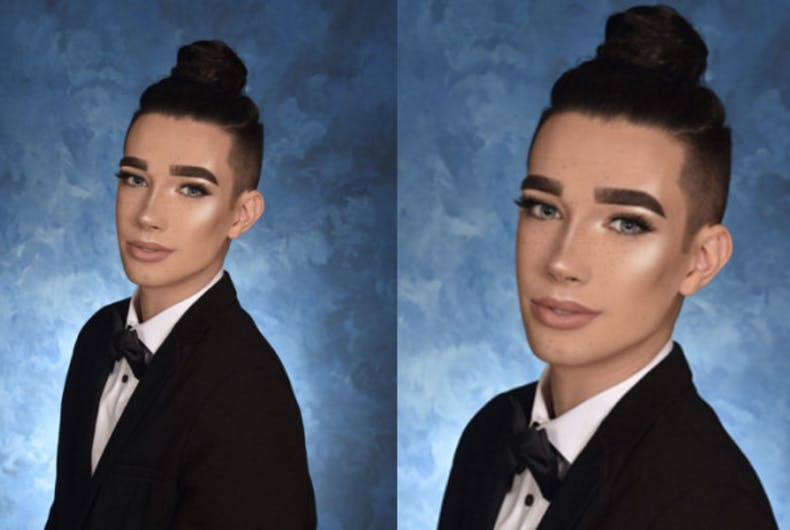 High school senior's fierce yearbook photo goes viral