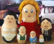 Check out these Russian nesting dolls inspired by John Waters movies