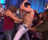 How Ellen predicts World Series winner: the hunk with the most cash in his pants