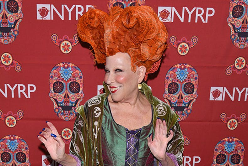 Bette Midler wins Halloween with some Hocus Pocus