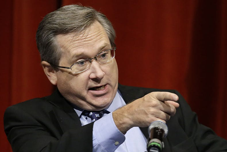 Human Rights Campaign stands by Republican Mark Kirk despite racist remark