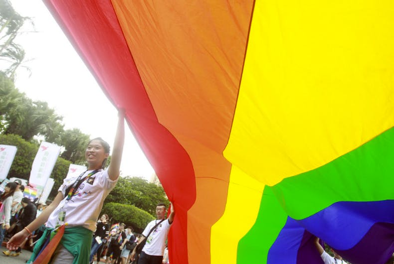 Professor's suicide sparks renewed marriage equality action in Taiwan