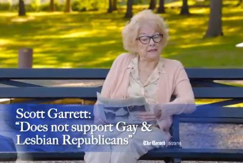 cursing grandmother campaign ad