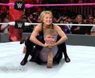 Watch: Ellen previews second Clinton-Trump debate with WWE parody