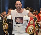 Antigay boxer Tyson Fury relinquishes titles, loses boxing license
