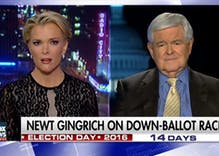 Newt Gingrich says Megyn Kelly 'fascinated with sex' for covering Trump accusers