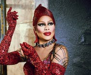 What caused Laverne Cox to hesitate before taking on iconic Rocky Horror role?