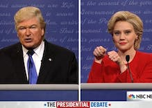 Saturday Night Live delivers the Trump/Clinton debate we all need