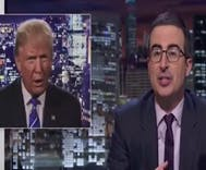 John Oliver delivers perfect takedown of 'warthog in a red power tie' Trump