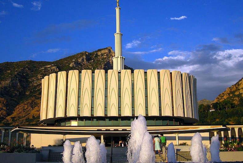 mormon temple provo