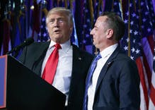 Trump names RNC Chairman Reince Priebus White House chief of staff