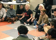 Madonna, Lady Gaga visit homeless LGBT youth at Ali Forney Center