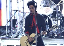 Green Day leads chant at AMAs: 'No Trump, no KKK, no fascist USA'