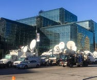 We're there as media converges on New York City for election climax