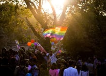 Hundreds march in India to demand LGBT rights