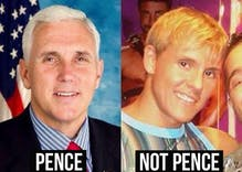 Sorry, Internet: Viral photo of Mike Pence as gay adult film star is not him