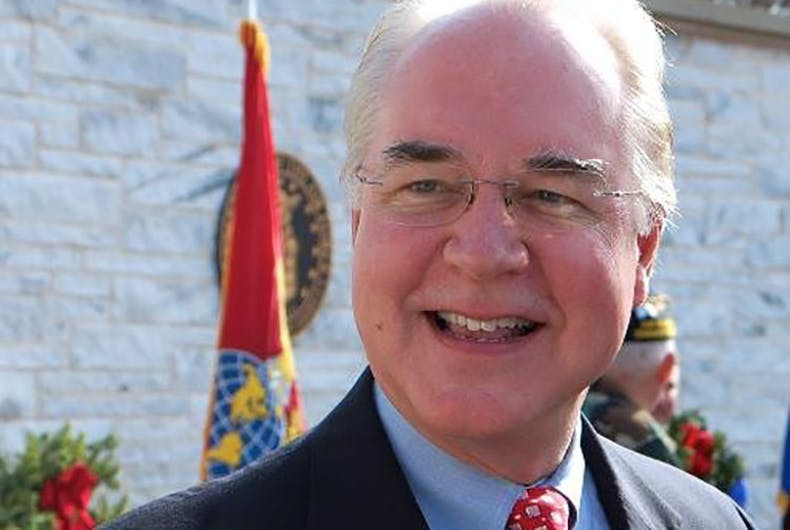 Tom Price got fired for cheating taxpayers but screwing over the poor was okay