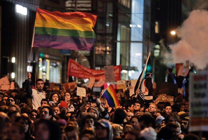 Trump LGBT rights